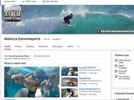 mallorcaextremesports.com youtube channel